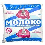 Zarechye pasteurized milk 3.3% 450g