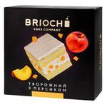 Торт Brioche Творожний з персиком 550г