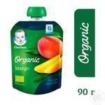 Пюре Gerber Organic манго 90г - купить, цены на Восторг - фото 4