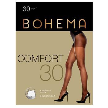 Колготы Bohema Comfort женские 30 ден капучино р.3