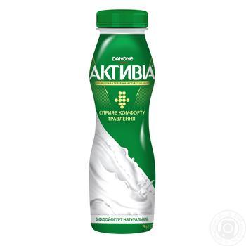 Біфідойогурт Danone Активіа Класичний 1.5% 290г - купити, ціни на Ашан - фото 2