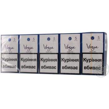 Сигареты Vogue Blue