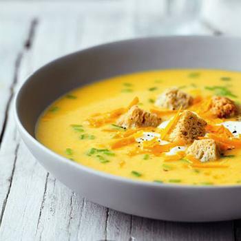 Суп с луком и сыром