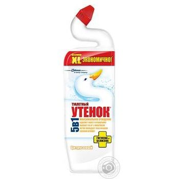 Toilet duck Toilet cleaner Hygiene  with citrus aroma 900ml - buy, prices for Novus - image 1