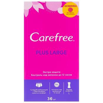 Прокладки ежедневные Carefree Large new 36шт