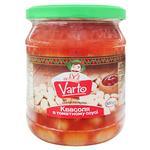 Фасоль Varto в томатном соусе стерилизованная 500г