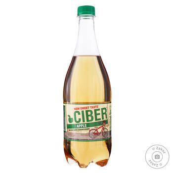 Сидр Ciber яблочный 5-6% 0.8л - купить, цены на Фуршет - фото 1