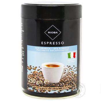 Rioba Espresso Ground Coffee - buy, prices for Metro - photo 1