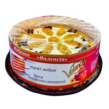 Торт Валенсия Медовик 1кг - купить, цены на Ашан - фото 1