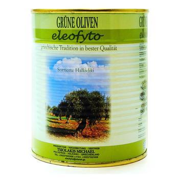 Оливки Eleo Fyto зеленые 2,5кг