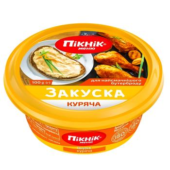 Закуска Пикник куриная 100г - купить, цены на Восторг - фото 1