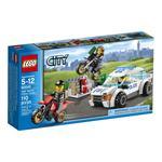 Конструктор Лего Сити полис Скоростная полицейская погоня для детей от 5 до 12 лет 109 деталей