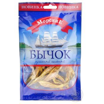 Бычок Морские сушеный соленый 35г - купить, цены на Восторг - фото 2