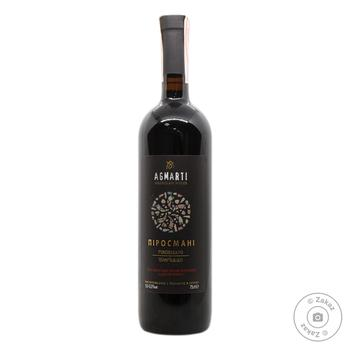 Вино красное Agmarti полусухое 10.5-12.5% 0.75л