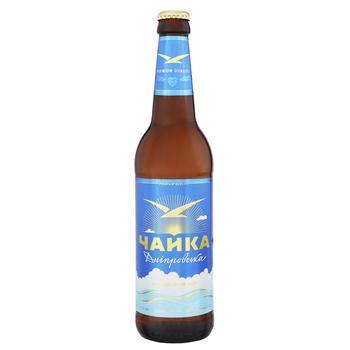 Пиво ППБ Чайка Днепровская светлое 4.8% 0.5л - купить, цены на СитиМаркет - фото 1