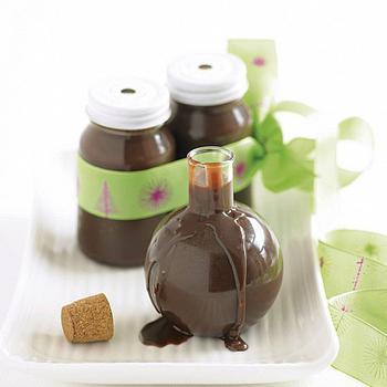 Шоколадно-коньячный соус