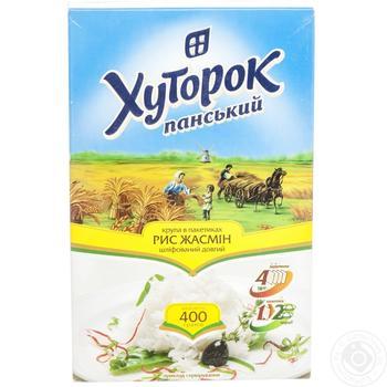 Hutorok Panskii Jasmine Rice in bags 400g - buy, prices for Furshet - image 4