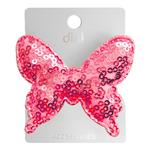 Dini Hand Made Butterfly Pink Hairpin With Sequins For Hair d-306