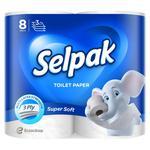 Туалетная бумага Selpak Ultra Comfort 8шт