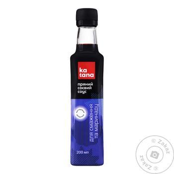 Соус севый Katana для жарки и маринада 220мл - купить, цены на Novus - фото 2