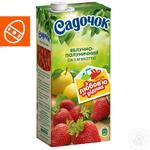 Сок Садочок яблочно-клубничный 1,93л