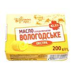 Ukrayinsʹka Zirka Vologda Butter 82.5% 200g