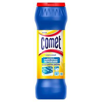 Порошок Comet Лимон Подвійний ефект для чищення універсальний 475г - купити, ціни на CітіМаркет - фото 1