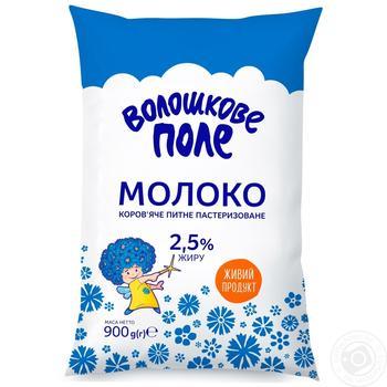 Молоко Волошкове поле пастеризоване 2,5% 900г - купити, ціни на МегаМаркет - фото 2