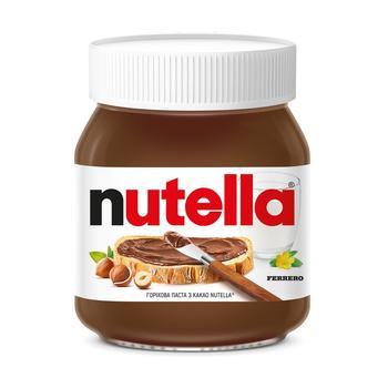 Ореховая паста с какао Nutella 350г - купить, цены на Метро - фото 1