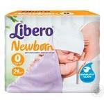 Подгузники детские Libero Newborn 0-2.5кг 24шт