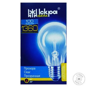 Лампа Искра А55 100Вт Е27