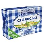Масло Селянське сладкосливочное 72,5% 100г