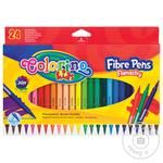 Colorino Felt-Tip Pens 24 Colors