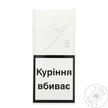 сигареты davidoff one купить