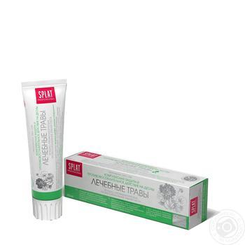 Зубна паста Splat Professional Medical Herbs захист від бактерій і карієсу 100мл - купити, ціни на Novus - фото 1
