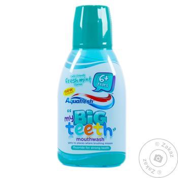Aquafresh My Big Teeth Refreshing Mouthwash for Childrens 300ml