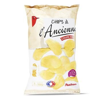 Auchan Chips Ancient Recipe - buy, prices for Auchan - photo 1