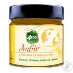 4TEA Jam-syrup Ginger with Lemon 225ml - buy, prices for Furshet - image 1