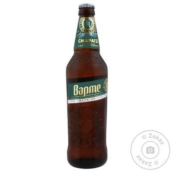 Пиво Черниговское Варте Изумруд светлое 4,6% 0,5л - купить, цены на Ашан - фото 1