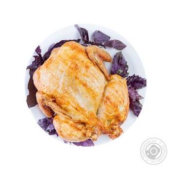 Курица запеченная Домашняя