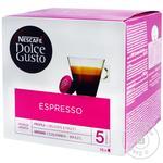 Кофе Nescafe Dolce Gusto Espresso Decaffeinato в капсулах 16шт 6г