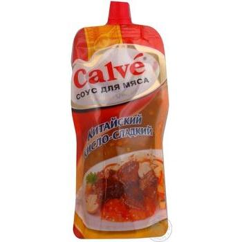Соус Calve Китайский кисло-сладкий для мяса 270г
