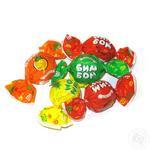 Конфеты Roshen Бим-Бом карамельные с фруктово-ягодной начинкой весовые