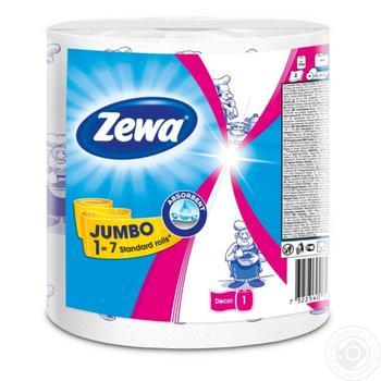Zewa Design Jumbo Kitchen Paper Towel - buy, prices for Novus - image 2