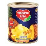 Fruit pineapple Tropic life in syrup 3060g can