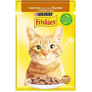 Friskies with turkey pieces in sauce for cats food 85g - buy, prices for EKO Market - photo 1