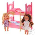 Кукольный набор Simba Эви с двуспальной кроватью - купить, цены на Novus - фото 1