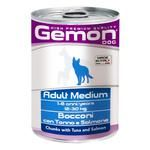 Food Gemon tuna for dogs of medium breeds 415g can
