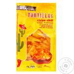 Чіпси Auchan мексиканські чилі 185г