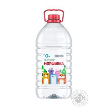 Вода минеральная Моршинская негазированная для детей 6л